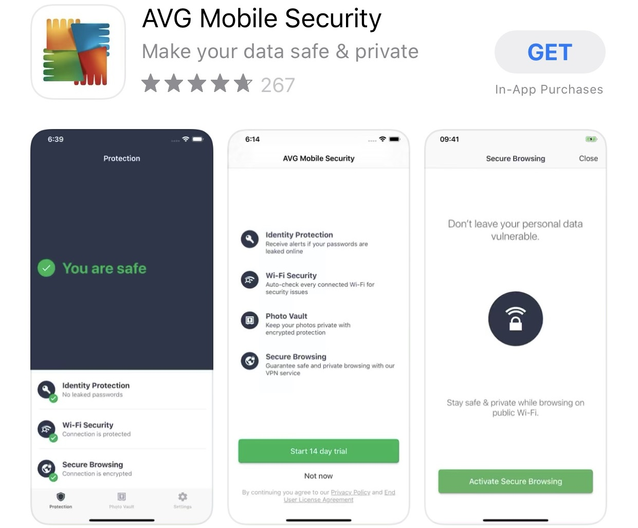 AVG Mobile Security for iphone
