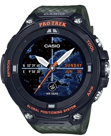Casio Pro Trek WSD-F30 – Best Android Watch for Outdoors