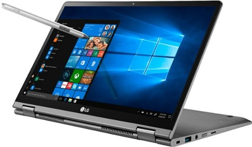 LG Gram 2-in-1 laptop tablet combo