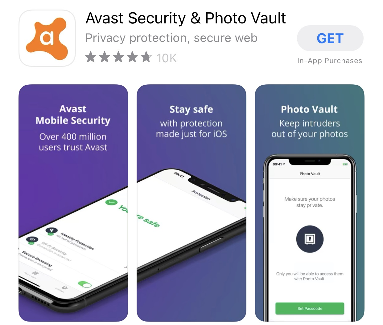 avast antivirus for iphone