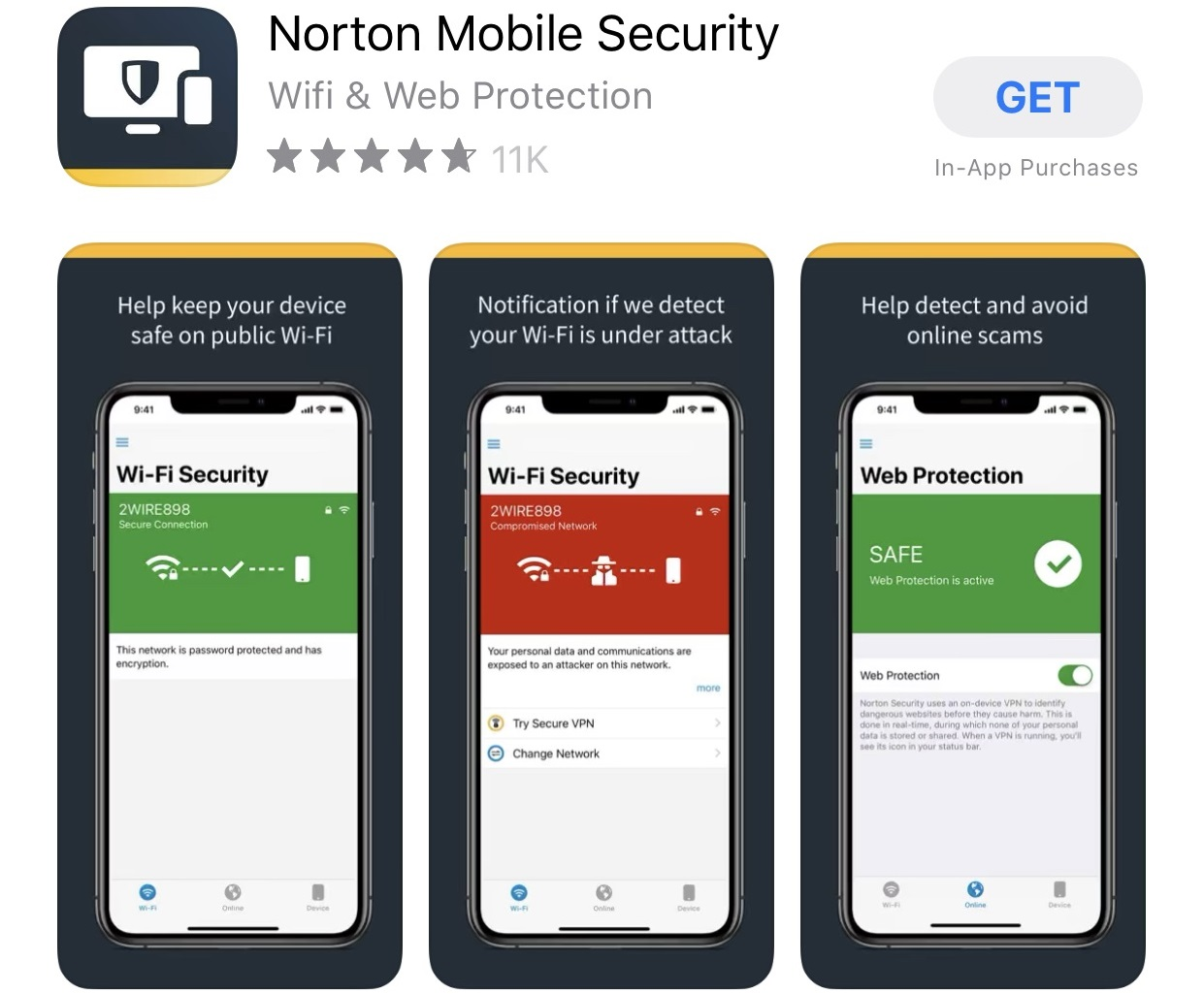 norton antivirus for iphone