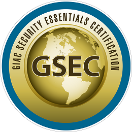 The GIAC Security Essentials (GSEC)