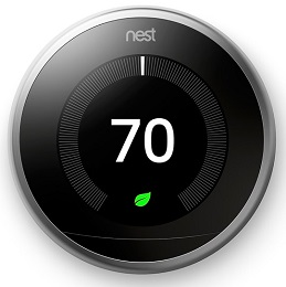 iot devices - Nest Learning Thermostat