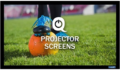 QualGear 120-Inch Fixed Frame Projector Screen