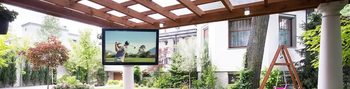 best tv for outdoor use