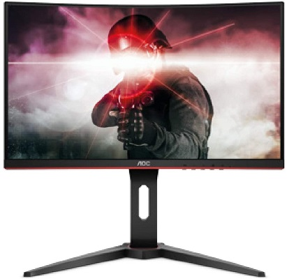 "AOC 24"" C24G1 Curved Frameless 144Hz Gaming Monitor"