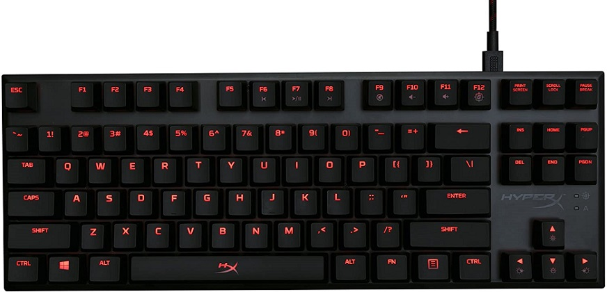 HyperX Alloy FPS Pro – Tenkeyless Mechanical