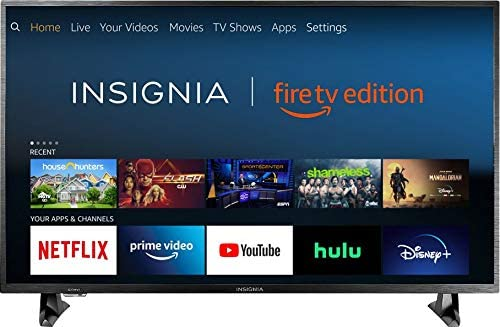 Insignia 4K HDR Fire TV Edition Smart LED 43″ UHD TV