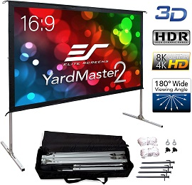 Elite Screens Yard Master 2 Best Portable Projector Screen