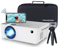 Fangor 1080P HD Projector – The Best Small Projector for Big Screen Projection