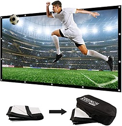 NIERBO 200 Inch 3D Large Portable Projector Screen