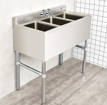 Giantex 3 Compartment Commercial 304