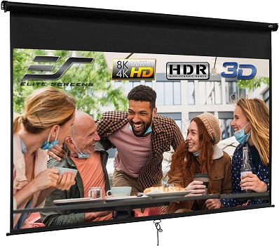 Elite Screen Manual B Series 120 Inch Pull Down Projection Screen